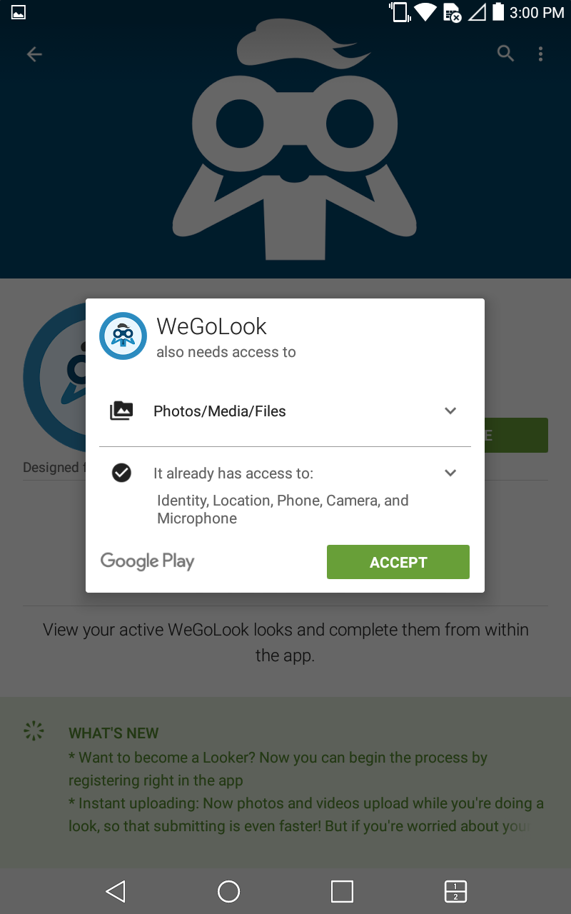 How To Update Android App – WeGoLook